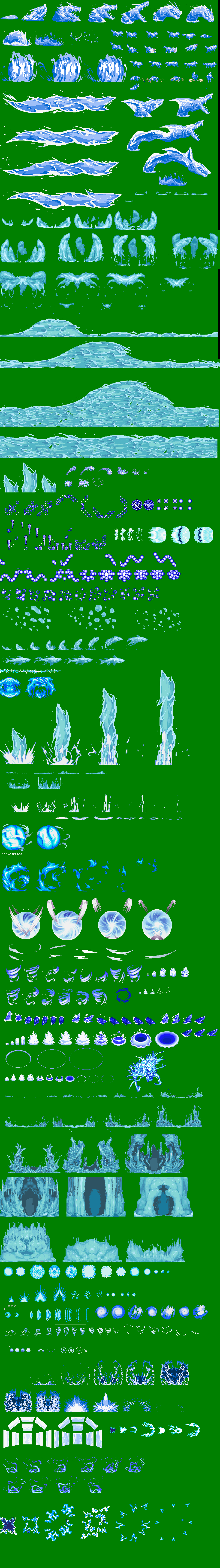 The gallery for --> Water Sprite Sheet Wailmer Sprite